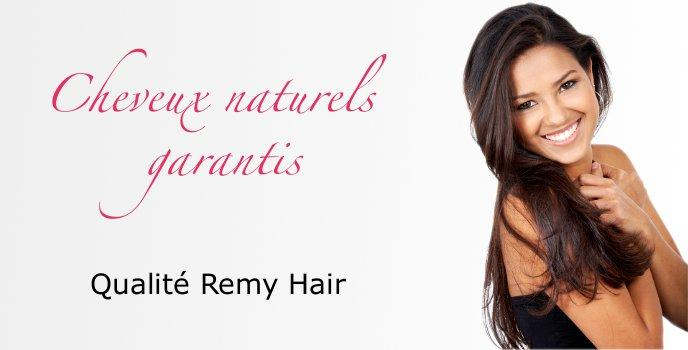Cheveux naturels Remy Hair