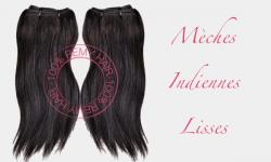 Mèche indienne remy hair lisse